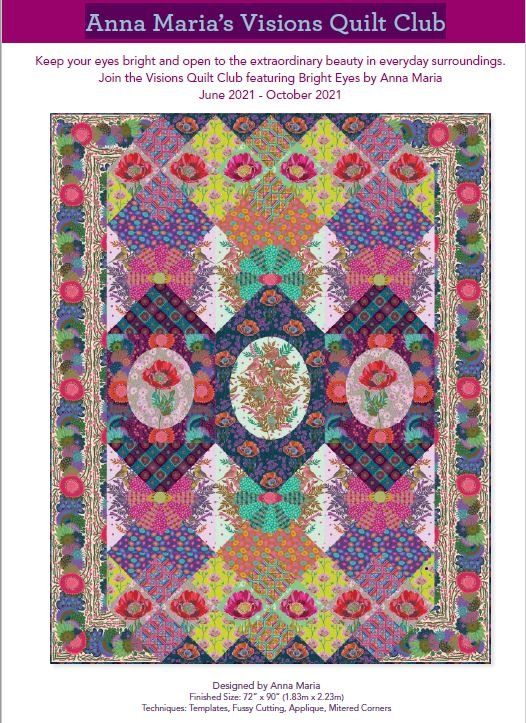 Anna Maria's Visions Club Quilt Along Registration Fee (non-refundable)
