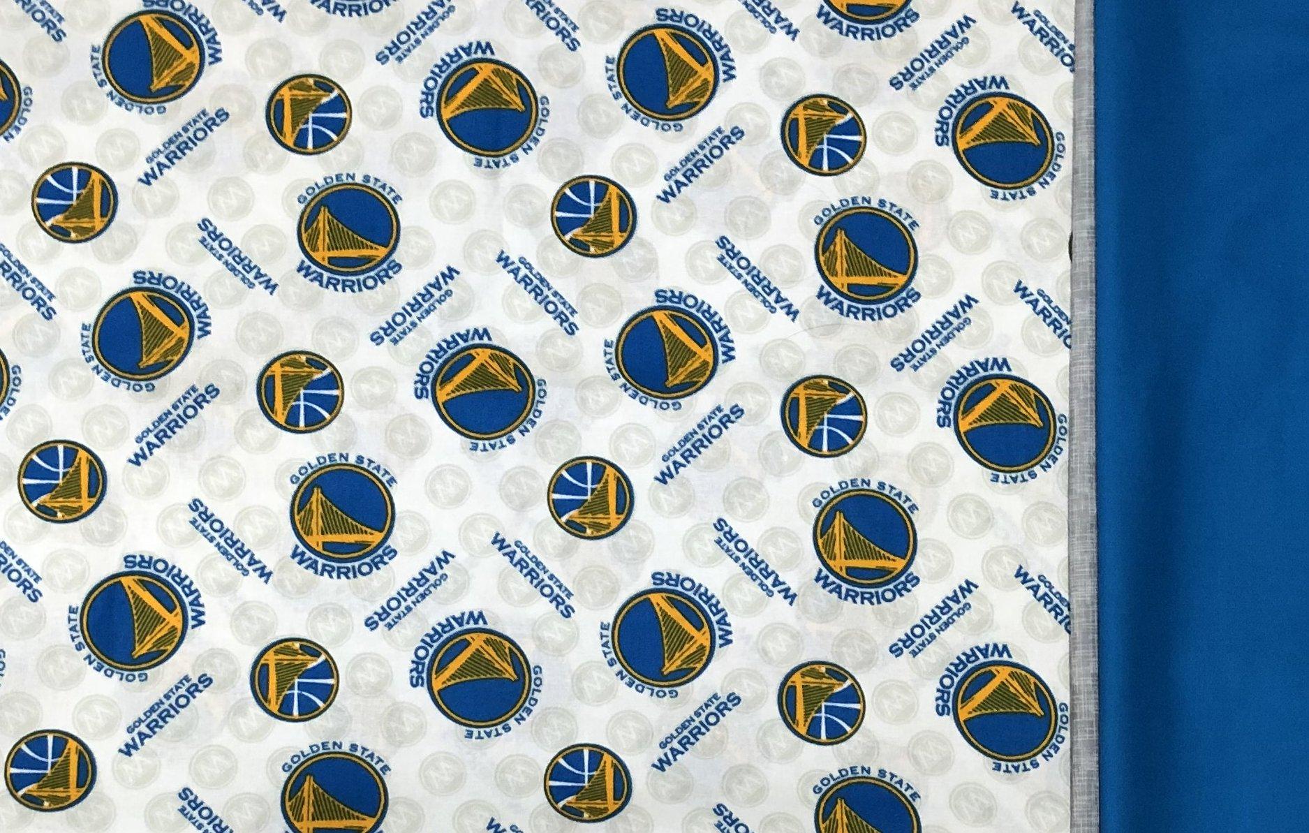 Pillowcase Kit - Golden State Warriors - Tube/Burrito-style
