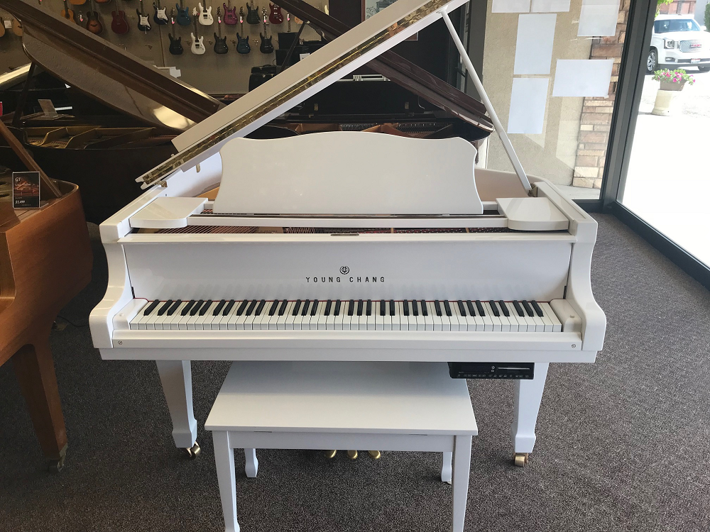 Used Young Chang G150 4'11 Grand Piano w/ Player System