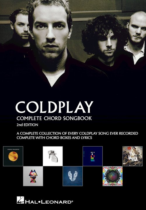 Coldplay - Complete Chord Songbook - 2nd Edition
