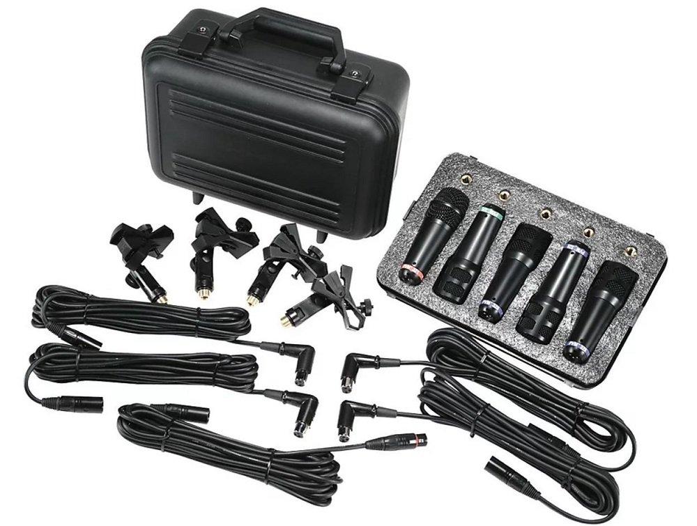 Peavey 00493130 PVM DMS-5 Drum Microphone Kit