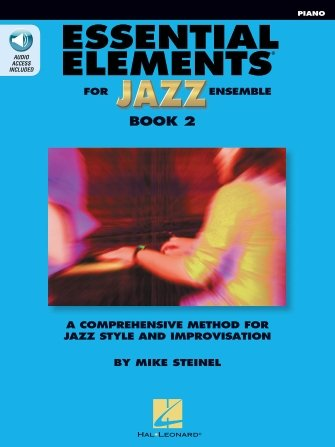 Essential Elements For Jazz Ensemble Bk2 - Piano