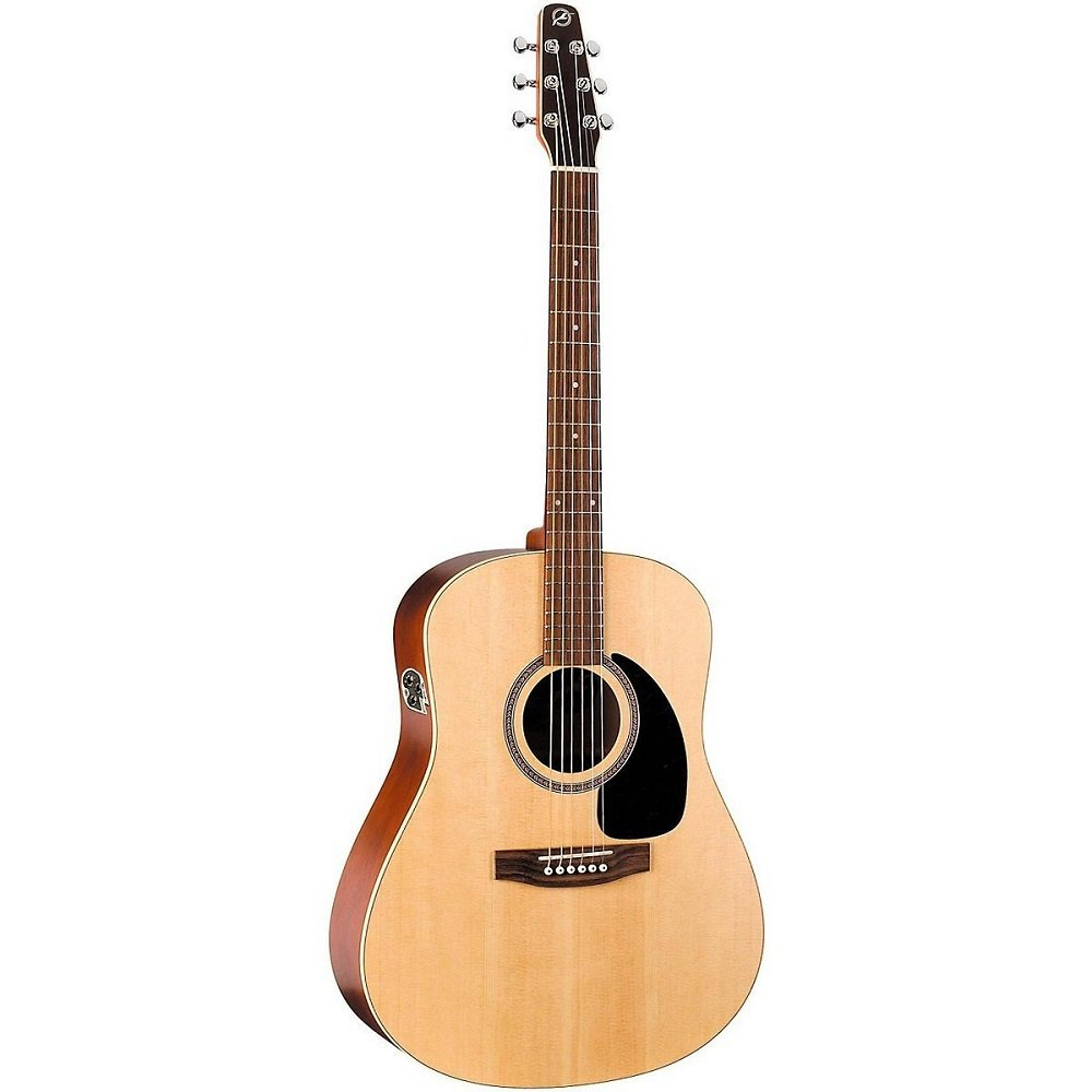 Seagull 029549 Coastline S6, Solid Spruce Top, QIT Acoustic Electric Guitar