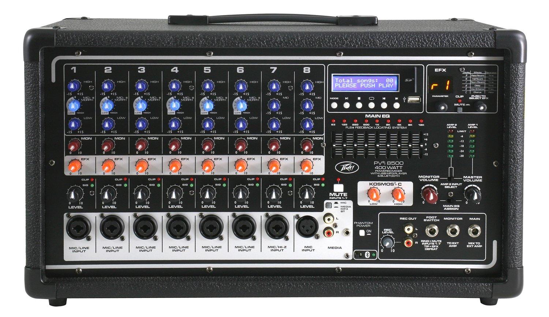 Peavey 03601860 PVi 8500 Powered Mixer