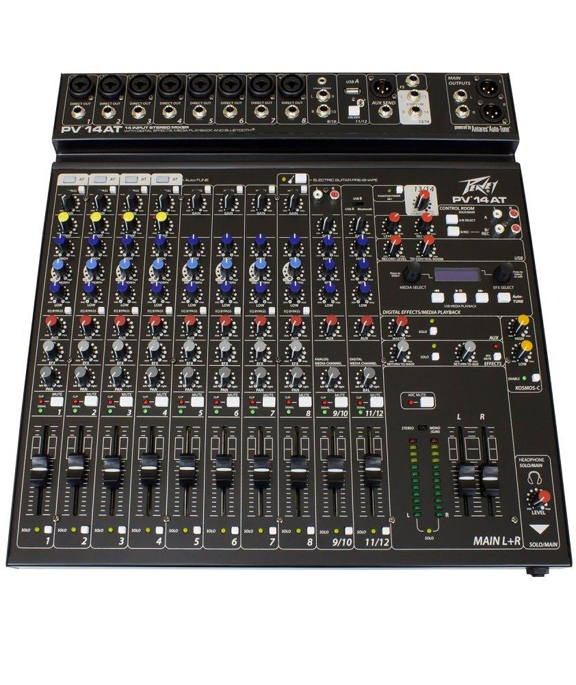 Peavey 03612630 PV14AT Non-Powered Mixer