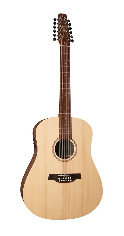 Seagull 039197 Walnut 12-String Acoustic Electric Guitar