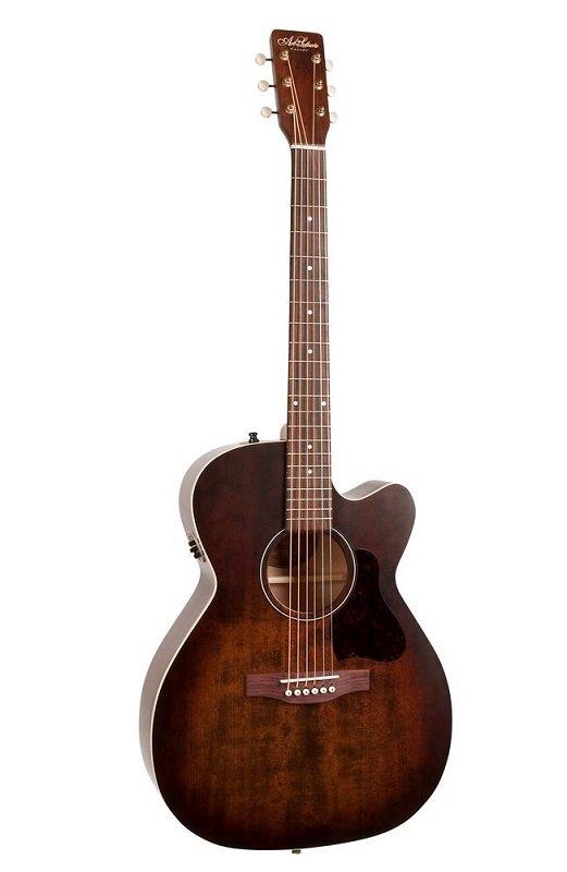 Art & Lutherie 042340 Legacy Bourbon Burst Acoustic Electric Guitar