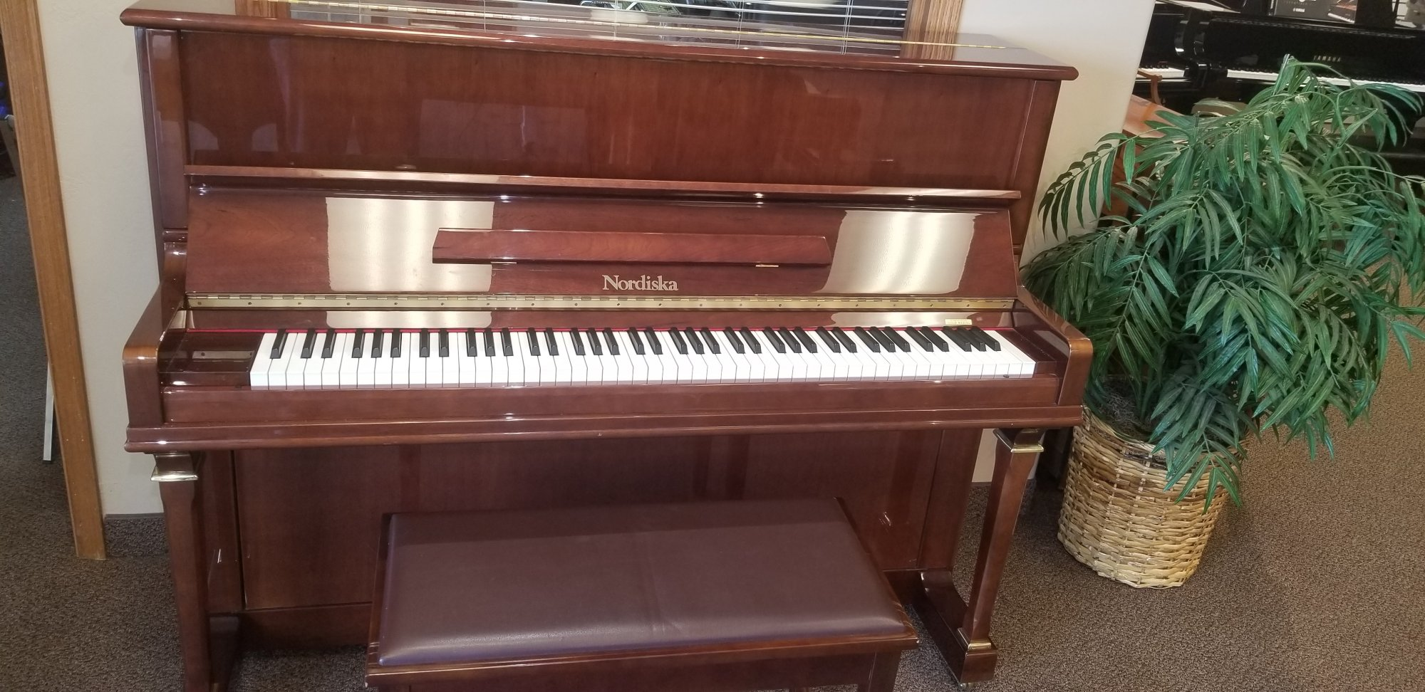 Like-New Nordisca 118ca Upright Piano