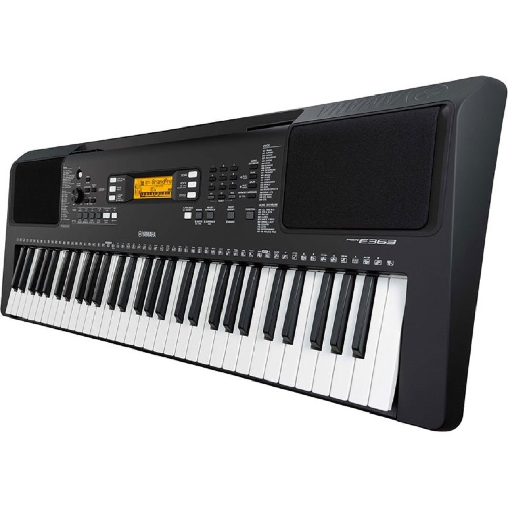 Yamaha PSR-E363 61-Key Portable Keyboard w/Survival Kit