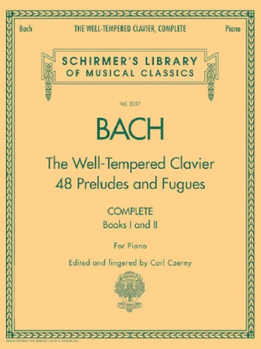Bach - The Well-Tempered Clavier, Complete Schirmer