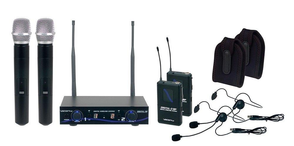 VOCOPRO Wireless Microphone System Digital-32-Ultra