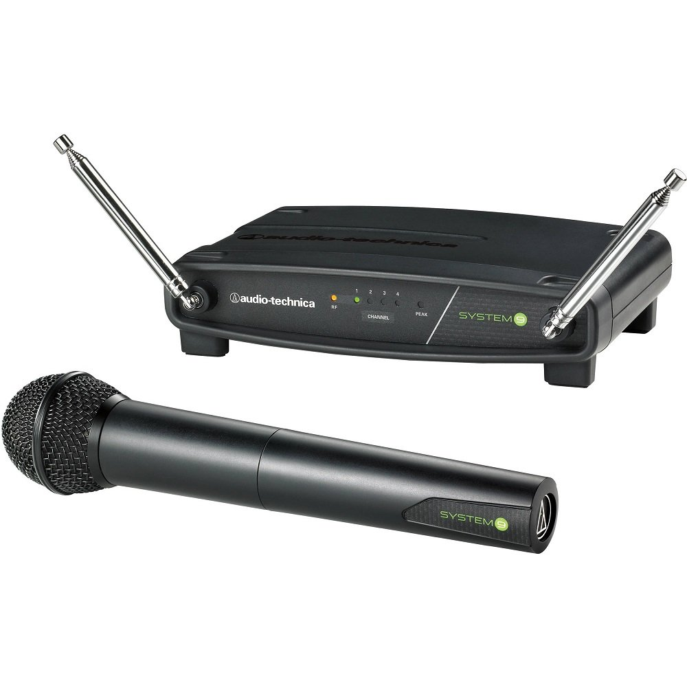 Audio-Technica ATW-902 System 9 Wireless Handheld Microphone System