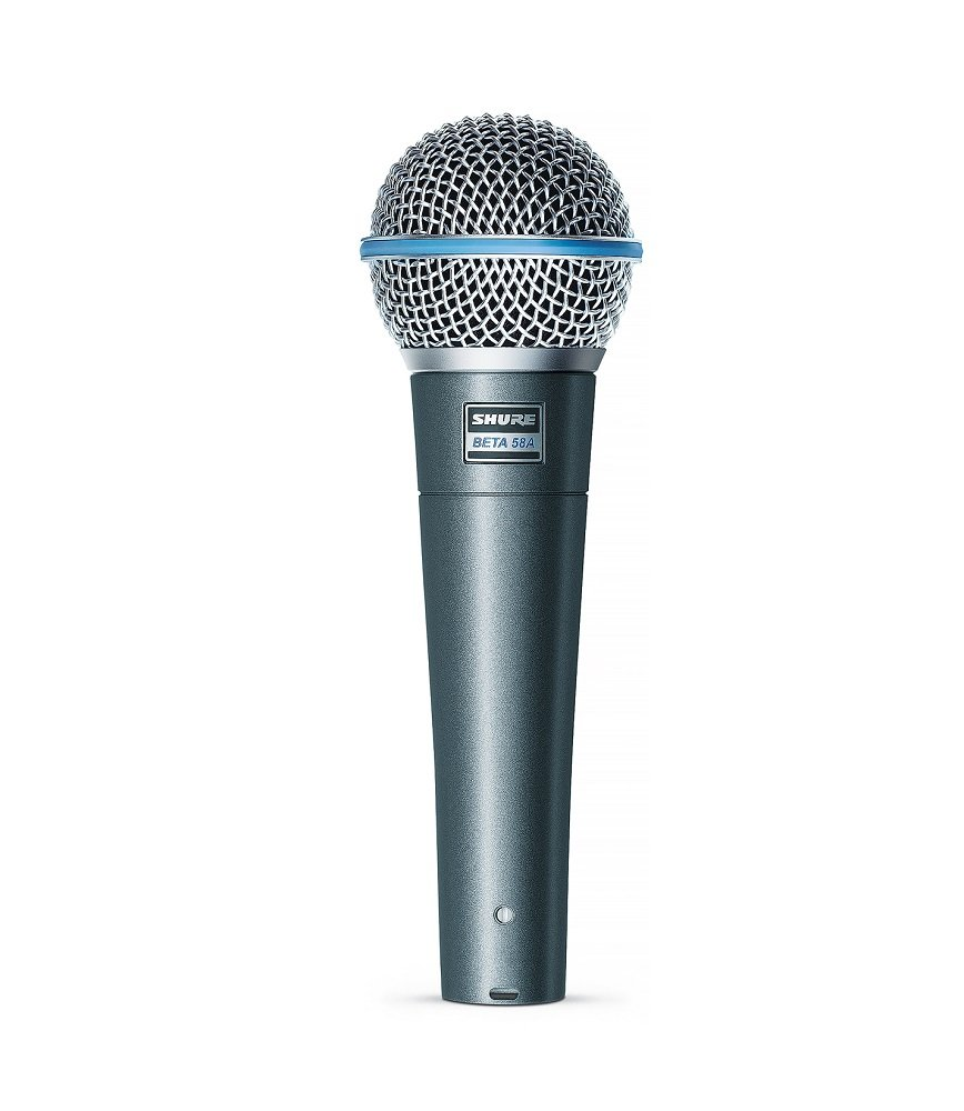 Shure BETA 58A Supercardioid Dynamic Vocal Microphone