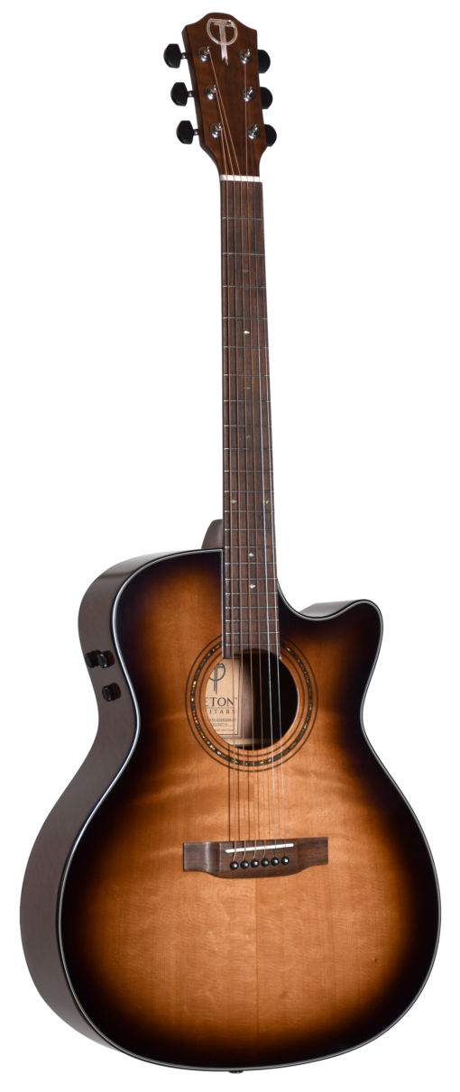 Teton STA120CESHB-BC Acoustic-Electric Guitar (Burst)