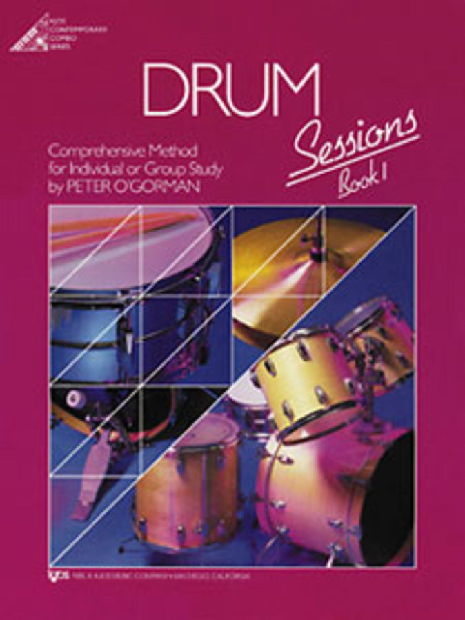 Drum Sessions, Book 1 (Book Only)