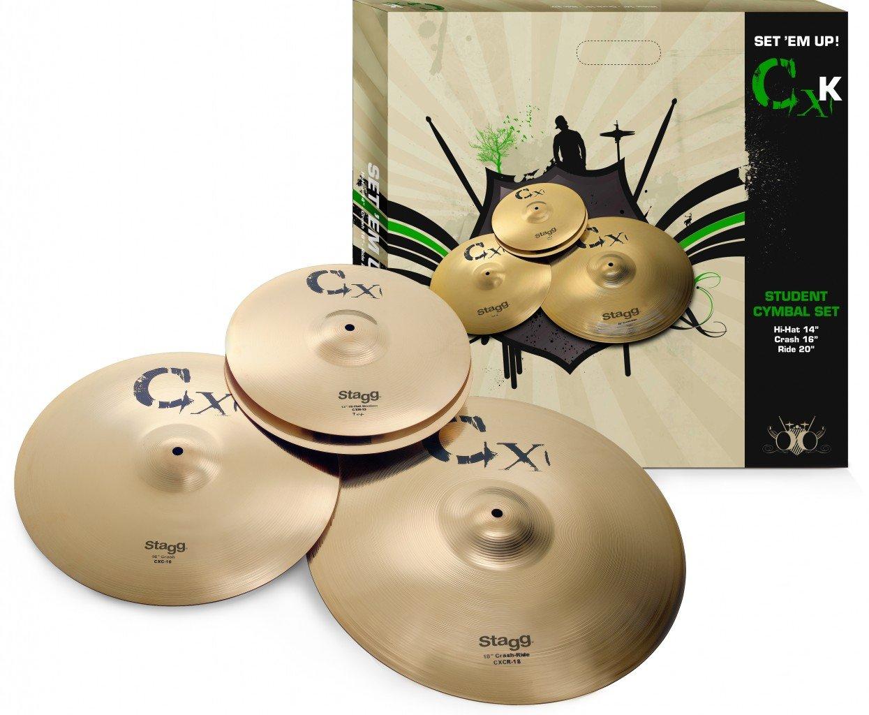 Stagg CXK Brass Cymbal Set
