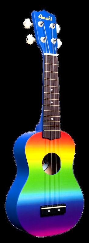 Amahi Soprano Rainbow Gradient Ukulele