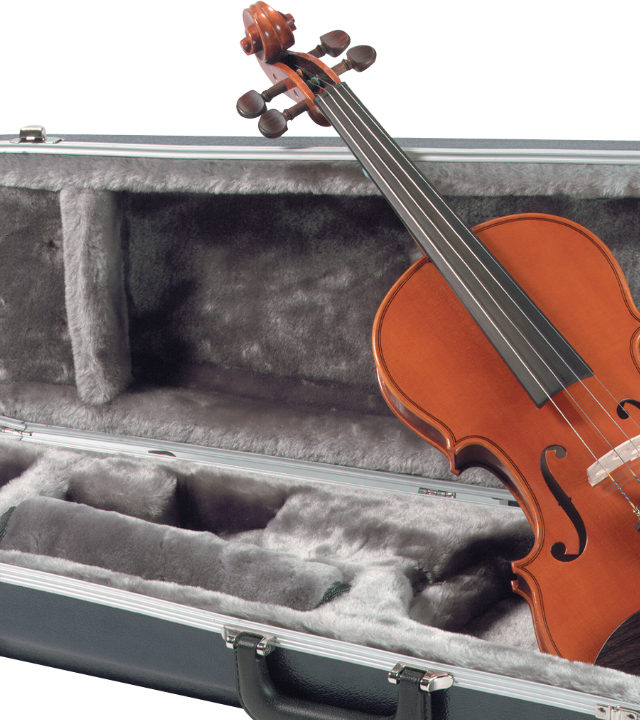 Yamaha Model AV5 violin outfit 4/4 Size w/ Abs Case