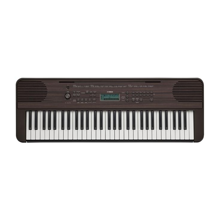 Yamaha PSR-E360 Dark Walnut Keyboard w/ Touch Sensitive Keys