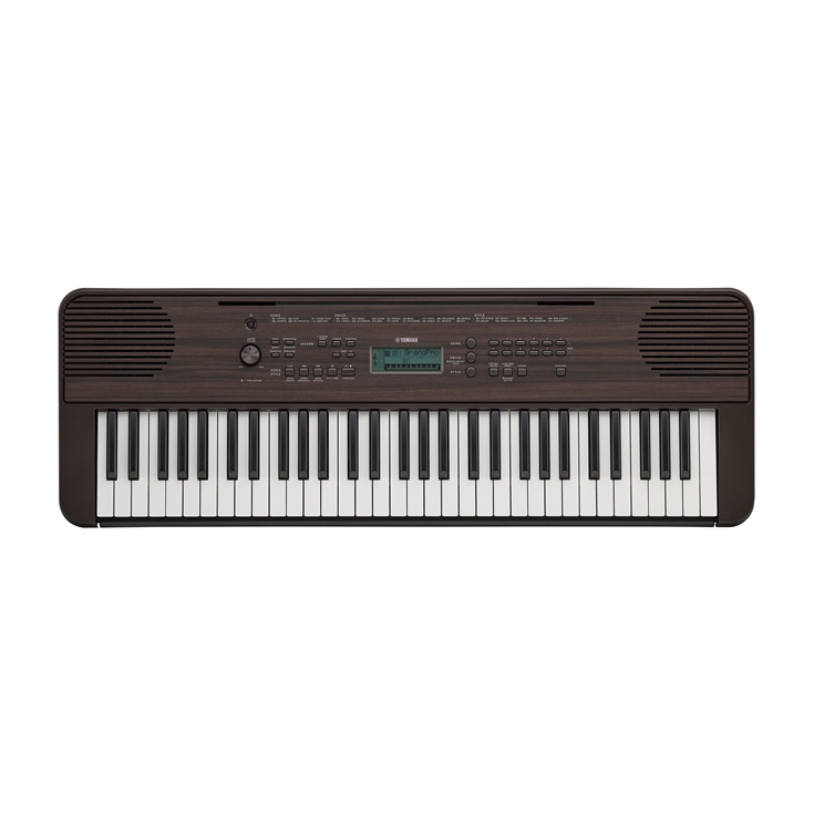 Yamaha PSR-E360 Dark Walnut Keyboard w/ Touch Sensitive Keys