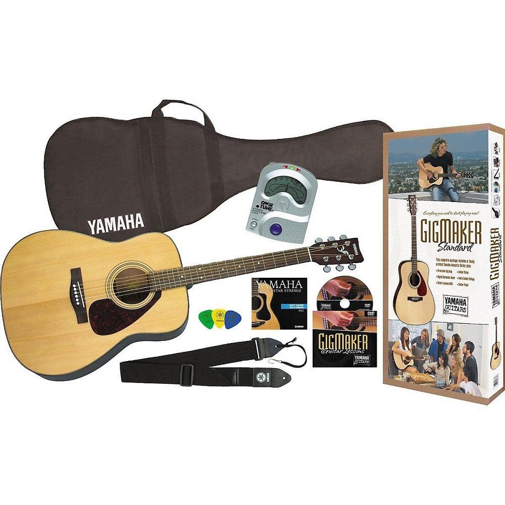 Yamaha F325 Gigmaker Acoustic Guitar Package