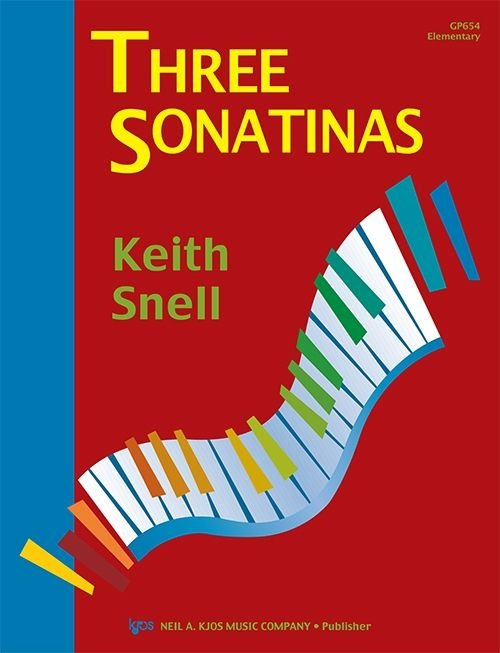 Three Sonatinas By Keith Snell