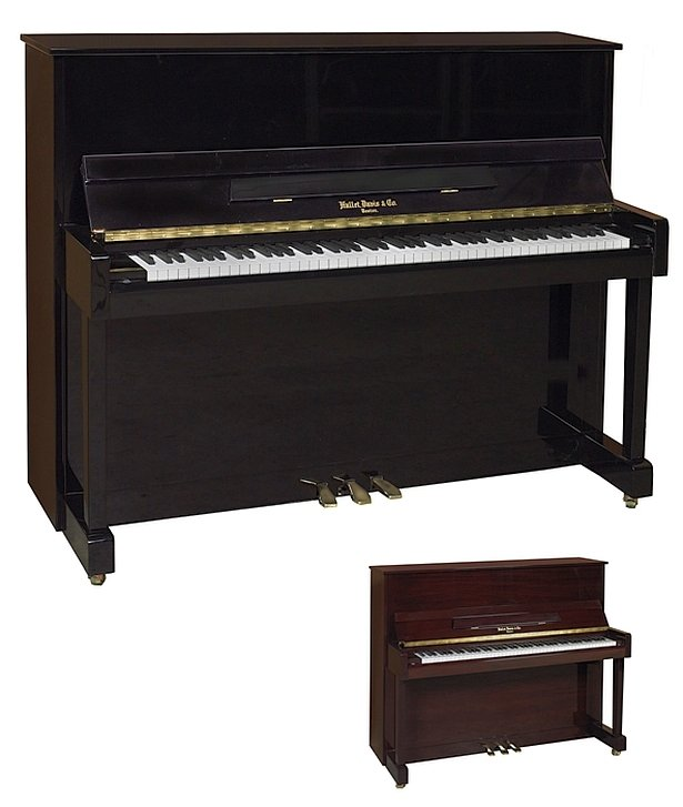 Hallet Davis H117H Classic Studio Piano