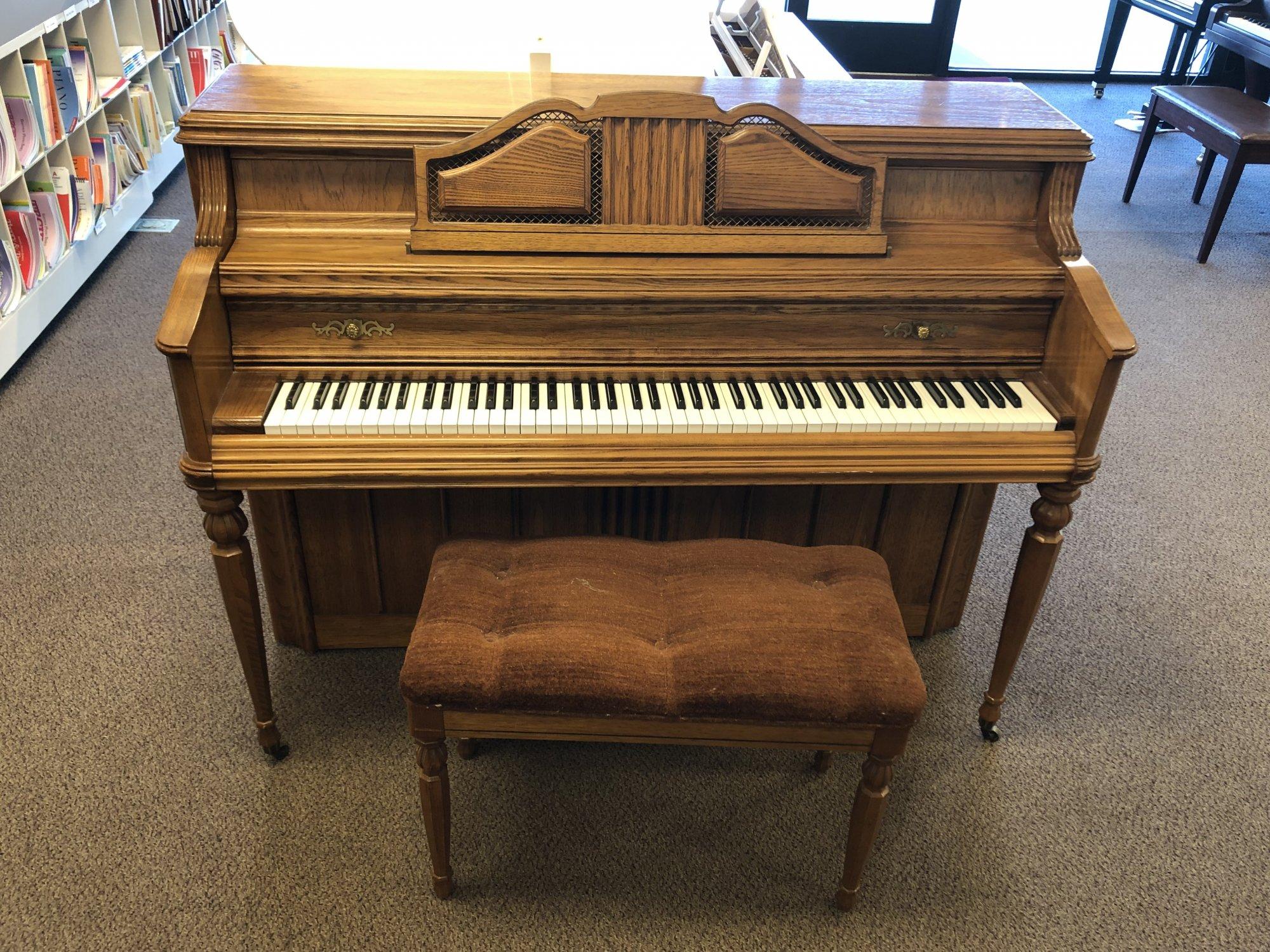 Used Wurlitzer Console Piano