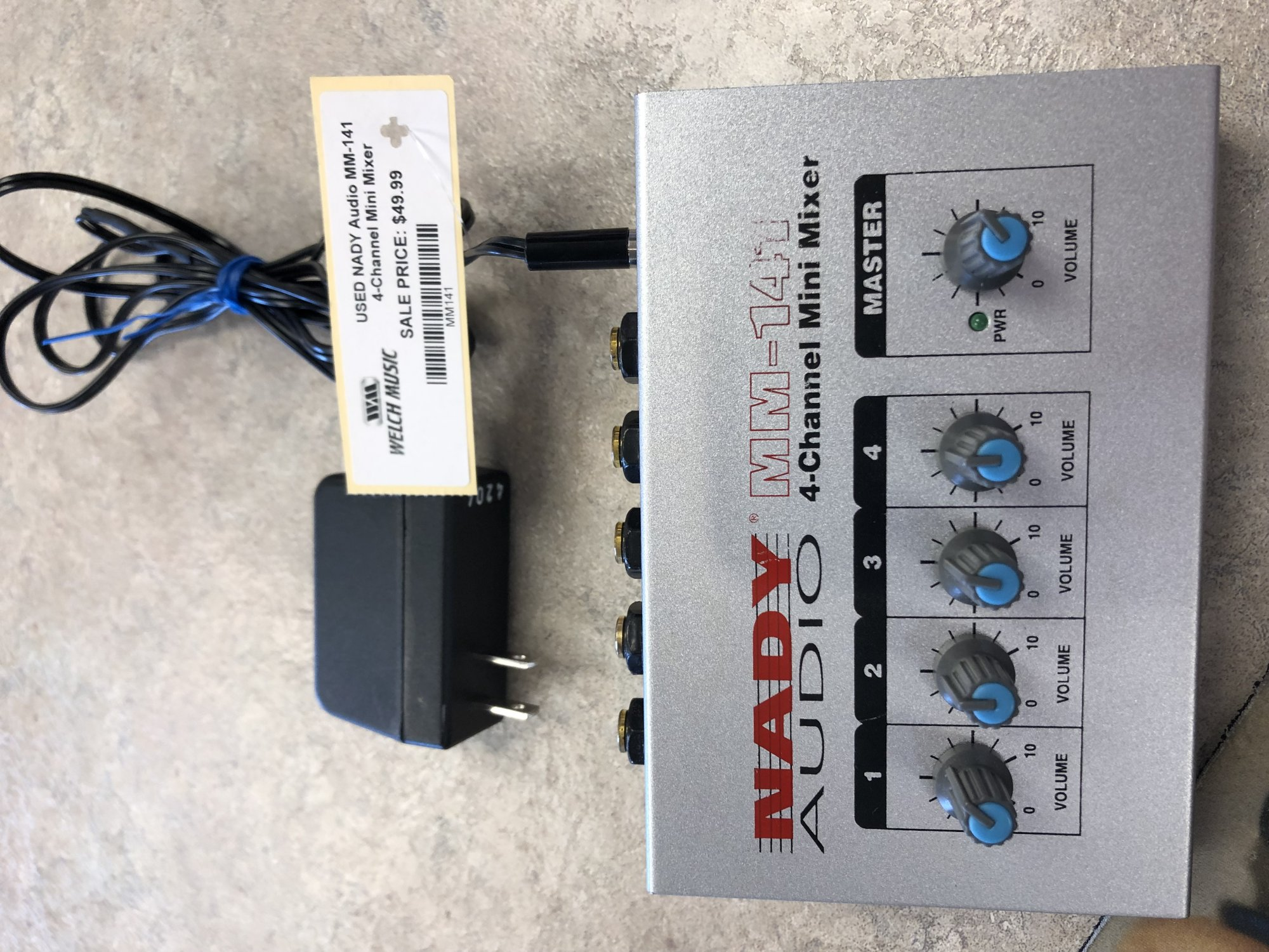 USED NADY Audio MM-141 4-Channel Mini Mixer