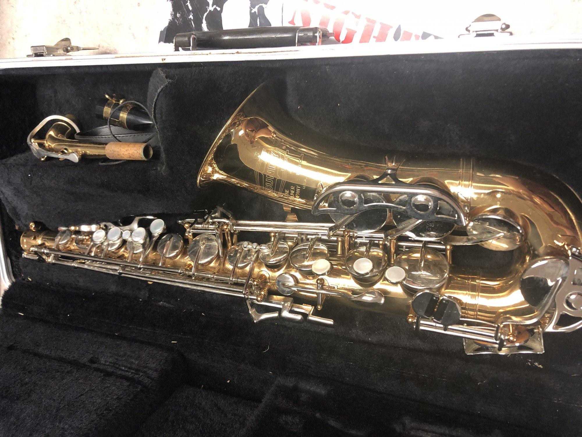 Used Bundy II Alto Sax