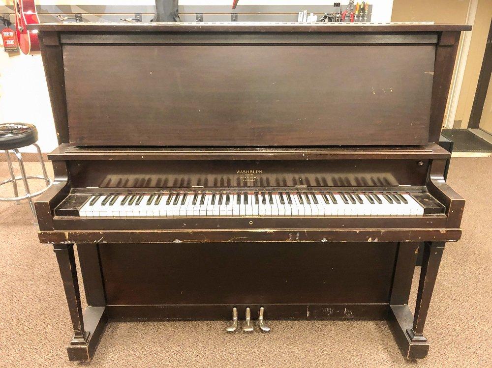 Used 1926 Washburn Upright Grand Piano