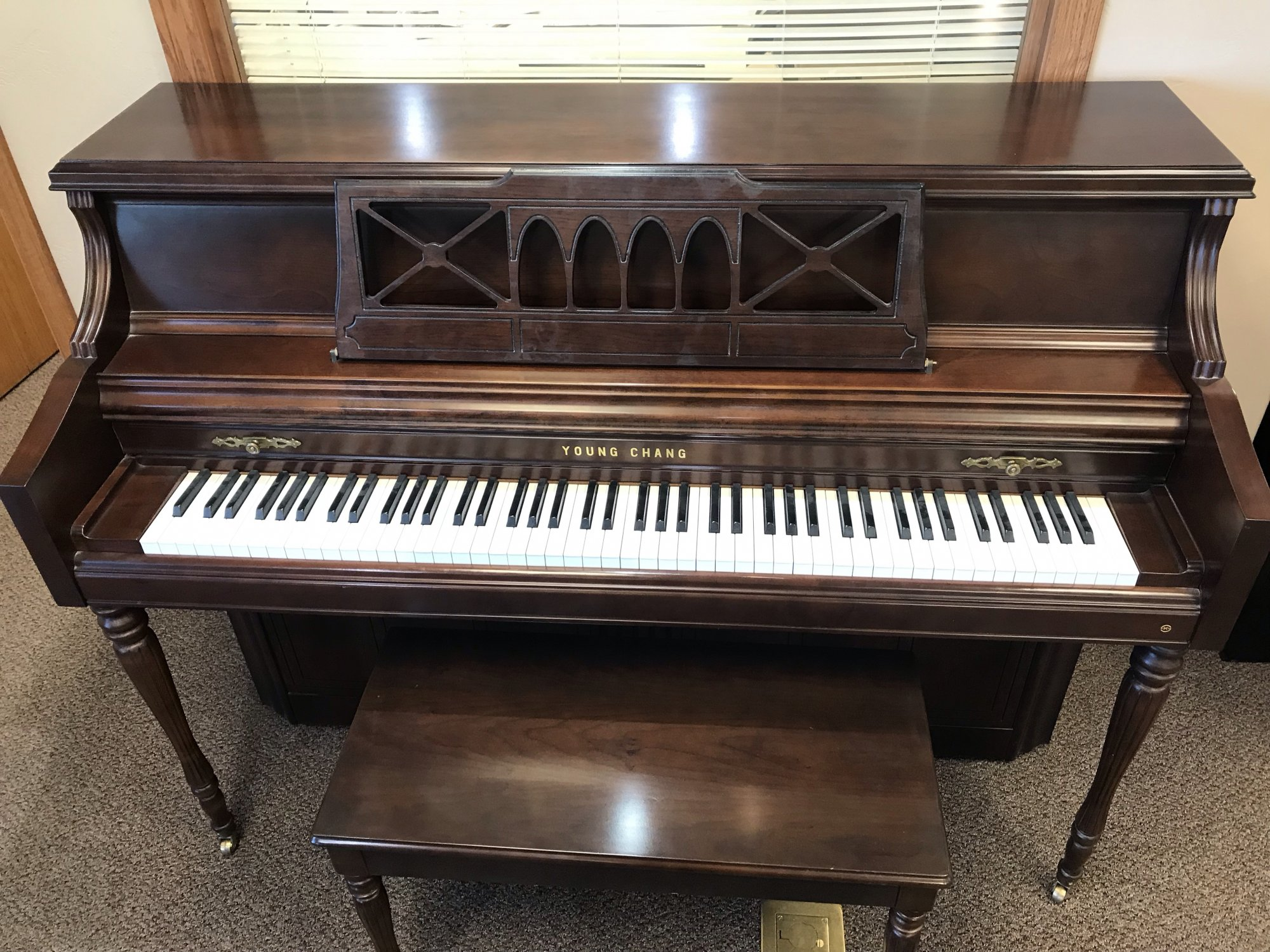 Used Young Chang Upright Piano