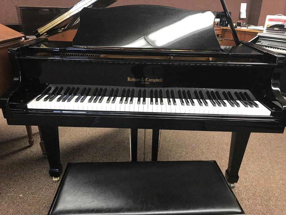 Used Kohler & Campbell 4' 7 Grand Piano - Polished Ebony