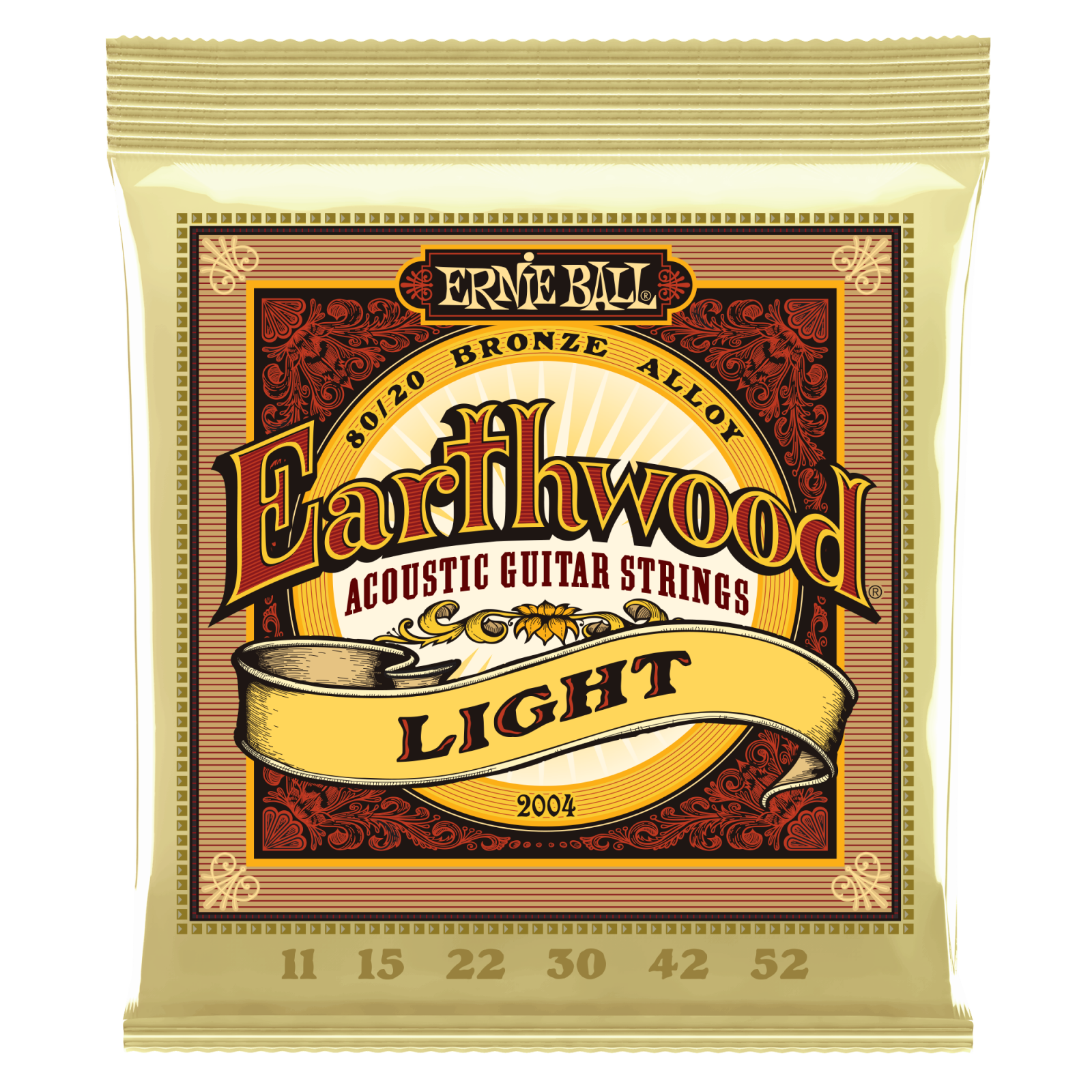 Ernie Ball Earthwood Acoustic Guitar Strings - Light Gauge