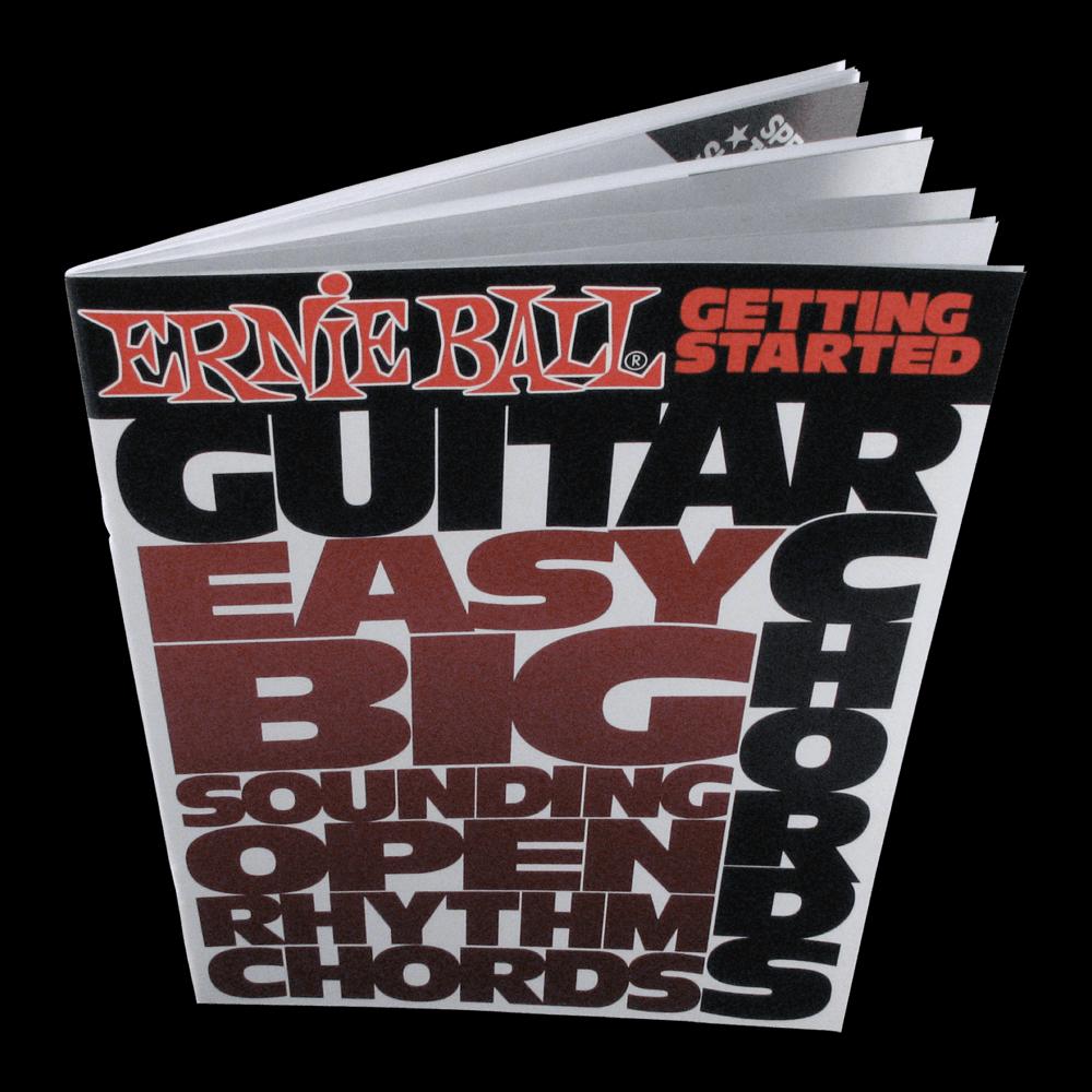 Ernie Ball: Guitar Chord Lesson Book
