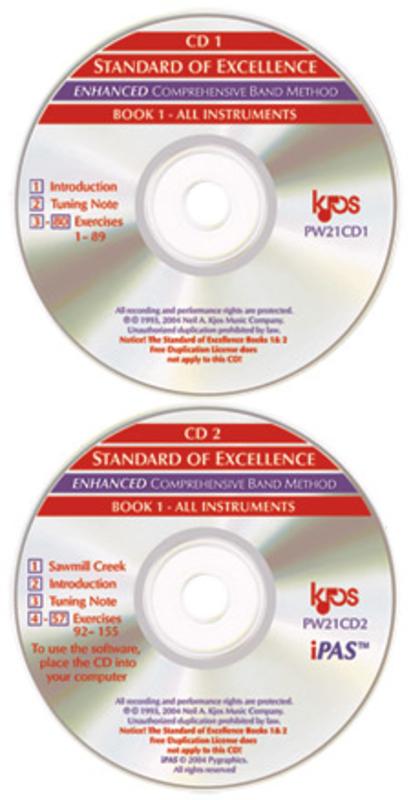 Standard of Excellence: Enhancer Kit Book 1