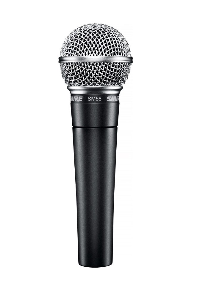 Shure SM58 Cardioid Dynamic Legendary Vocal Microphone