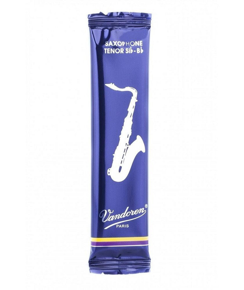 Vandoren 5 PACK Traditional Tenor Saxophone Reeds # 2 Strength 2 SR222