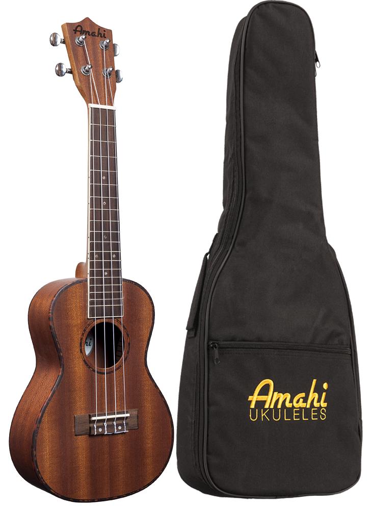 Amahi UK220 Mahogany Wood Ukulele