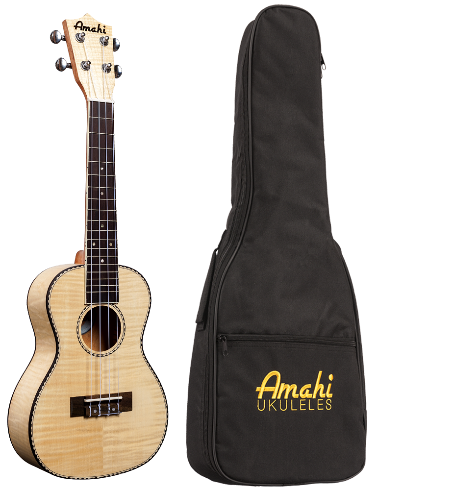 Amahi UK550 Flamed Maple Wood Ukulele