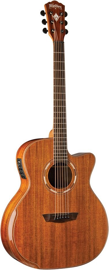 Washburn WCG55CE Fw-Figured Koa Top Back Sides
