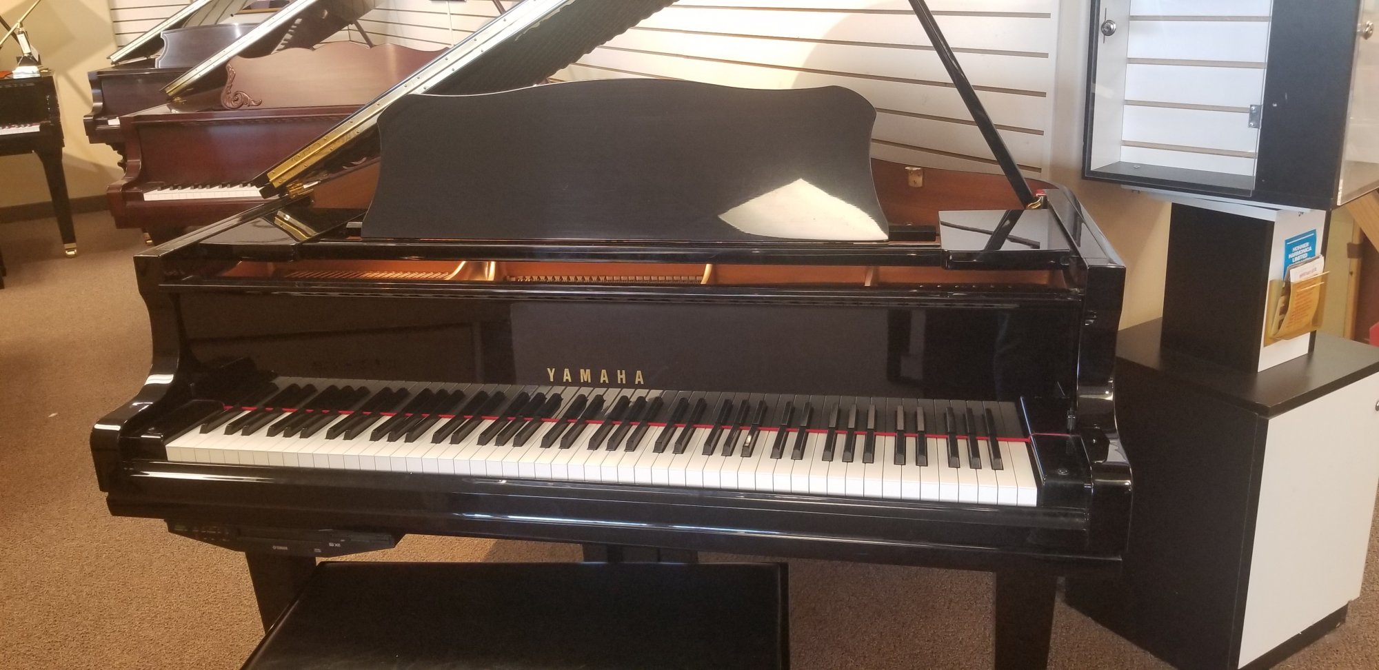 Yamaha GC1 Enspire Disklavier Grand Piano (Used)