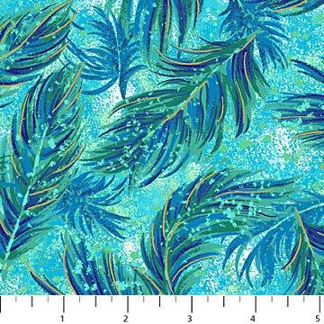 Blue Lagoon Falling Feathers - Flight Of Fancy