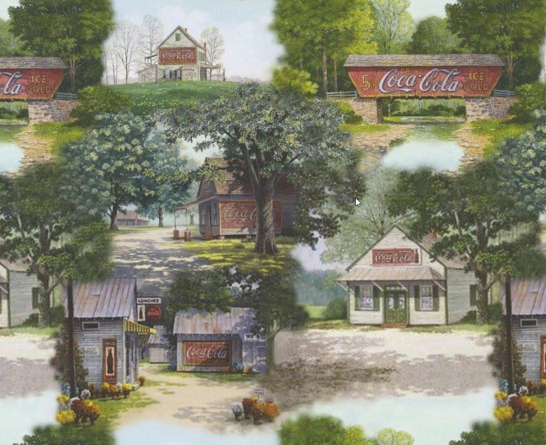 Coke Vintage Country - Coca-Cola