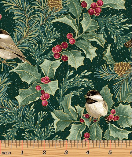Chickadees & Berries