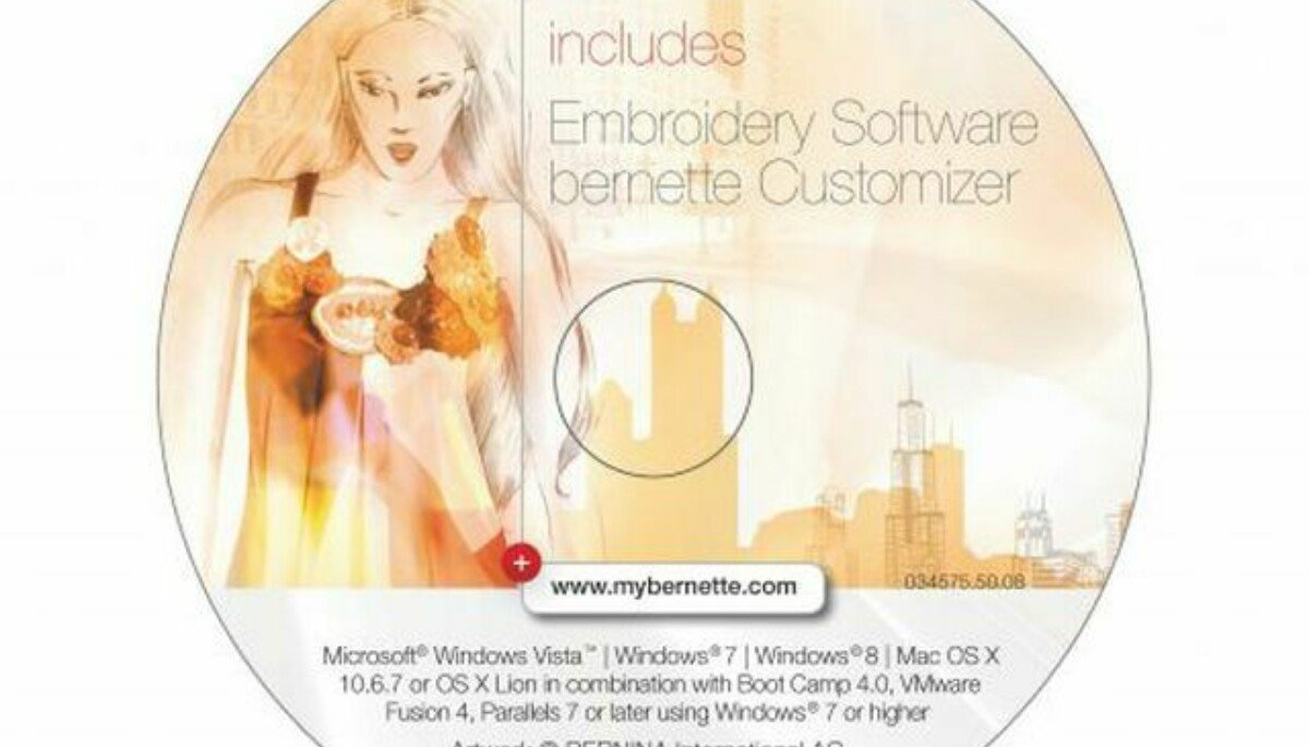 Bernette Customizer Embroidery Software