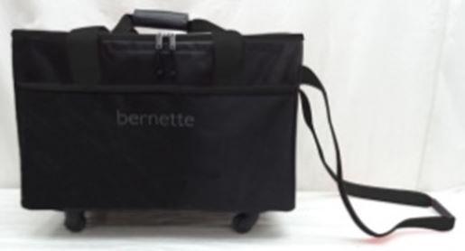 Bernette Foldable Wheeled Trolley Black