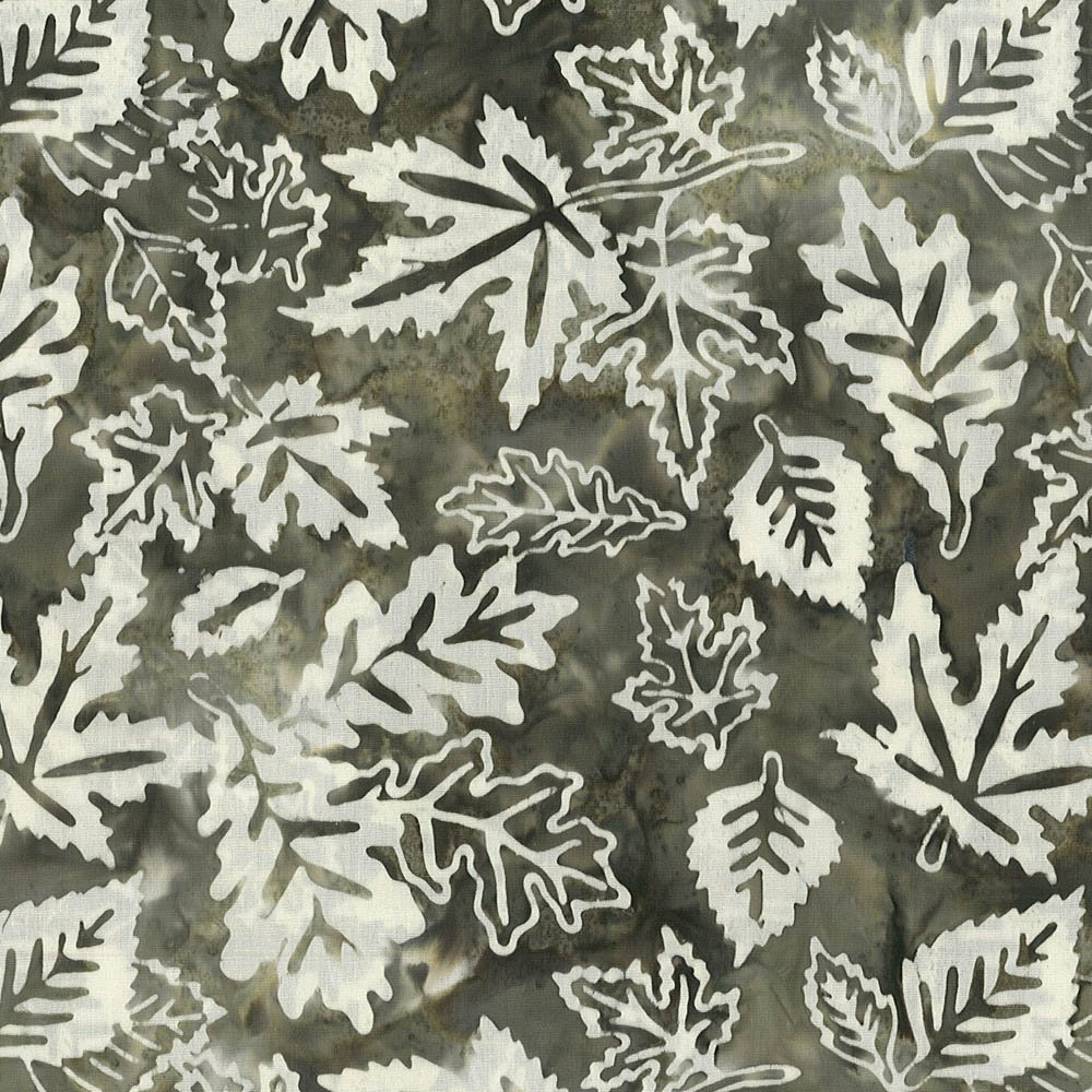 Falling Leaves Brown/Cream - Nunavut/Rocky Mountains Batik