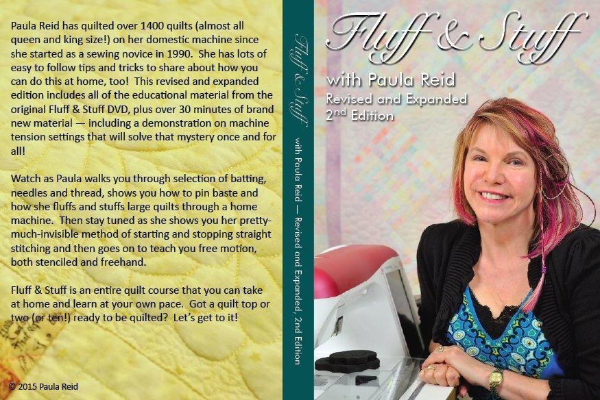 Paula Reid's Fluff & Stuff DVD