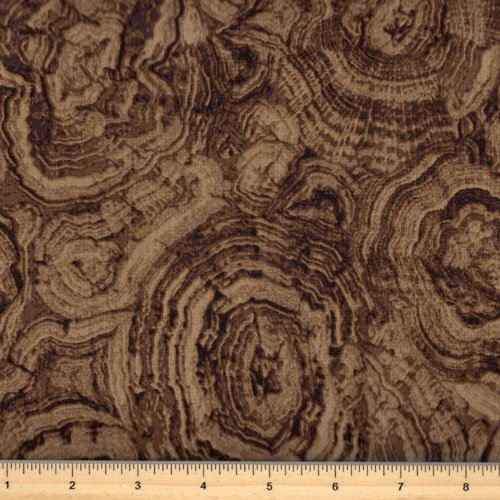 Tree Rings Brown - Stonehenge Woodland